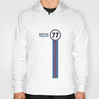 f1 Hoodies featuring F1 2015 - #77 Bottas by MS80 Design