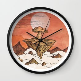 FOLLOW THE SMOKE .. Wall Clock