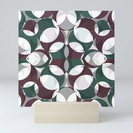 Billiards Overlap Mini Art Print