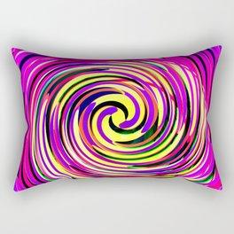 Rotating in Circles Series 06 Rectangular Pillow