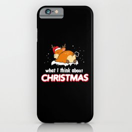 Anti Christmas Haters Fart Funny Sayings iPhone Case