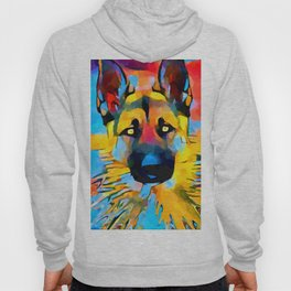 German Shepherd 2 Hoody