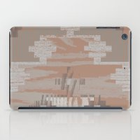 reassurance iPad Cases featuring Wood print V by Magdalena Hristova