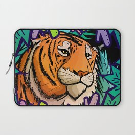 Tiger in the undergrowth Laptop Sleeve