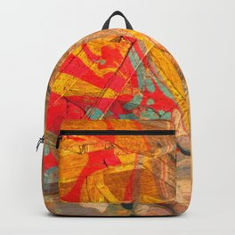 Abstract Painting ; Geyser Backpack