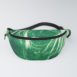 Crow Girl  - Bottle Green Fanny Pack