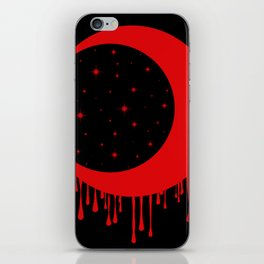 Red Moon iPhone Skin