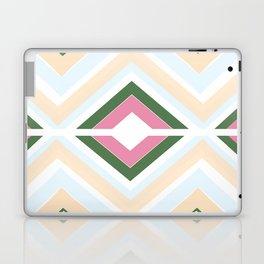 Mod stripes in Sorbet Laptop & iPad Skin