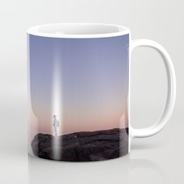 alone on lake superior Coffee Mug