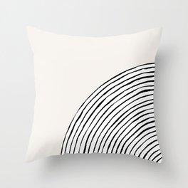 Concentric Circles Throw Pillow