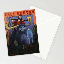 Paul Bunyan Stationery Cards