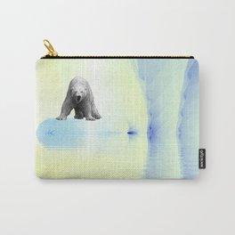 Polar Bear Fractal Carry-All Pouch