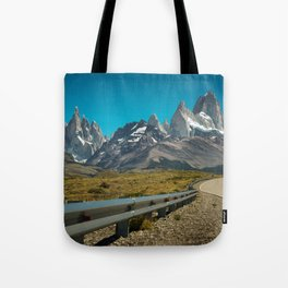 Road to Fitz Roy Tote Bag