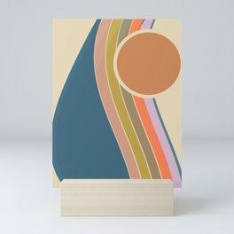Pastel Sunrise Mini Art Print
