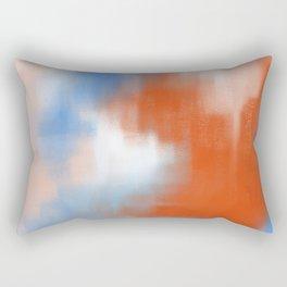 Abstract vibe 01 Rectangular Pillow