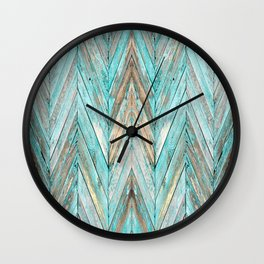 Wood Texture 1 Wall Clock