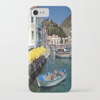 boats iPhone & iPod Cases featuring Boats by Sumii Haleem