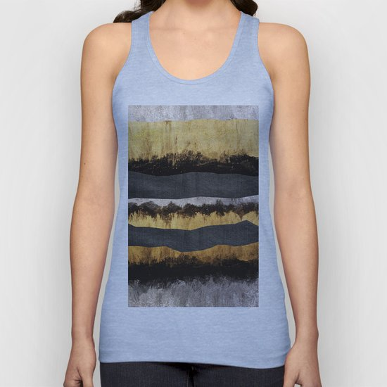 Golden Ocean Waves #1 #abstract #painting #decor #art #society6 by anitabellajantz