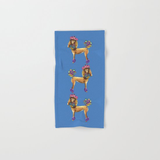 Poodle Dee Doo Two Hand & Bath Towel