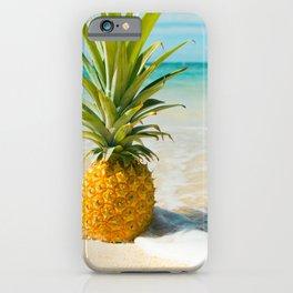 Pineapple Beach iPhone Case