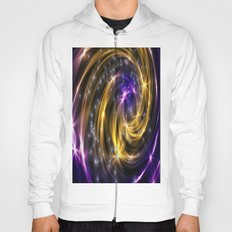 Yellow and blue abstract  Hoody
