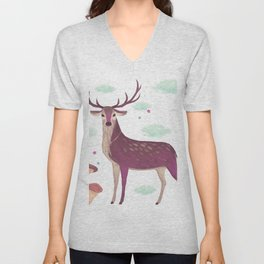 Wht Are You Lookng For Unisex V-Neck