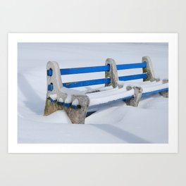 Snow Day Art Print