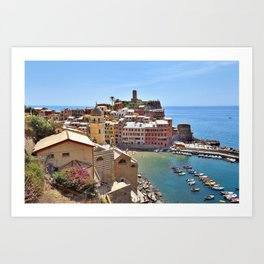 Italian Beauty Art Print