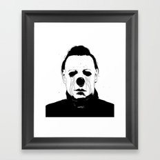 Myers, The Clown Framed Art Print