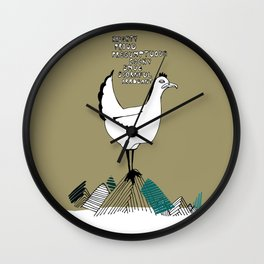 Cocky Cock Wall Clock