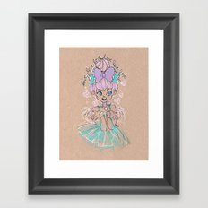 Love Love Love Little Heart Framed Art Print