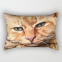 Louie Cat Rectangular Pillow