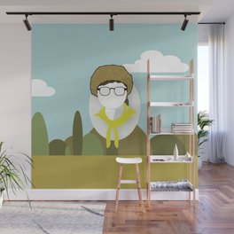 Moonrise Kingdom - Sam Shakusky (Jared Gilman) Wall Mural
