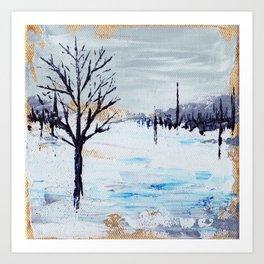 Frozen Field Art Print
