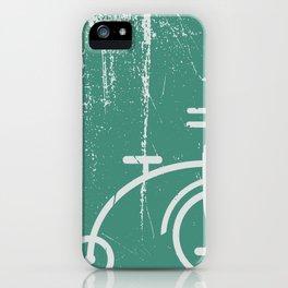 Grunge bicycle iPhone Case