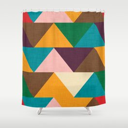 Kilim Chevron Shower Curtain