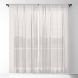 Almost Mauve - Fashion Color Trend Spring/Summer 2018 Sheer Curtain