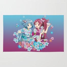 Sayaka Miki & Kyoko Sakura - Love Yukata edit. Rug