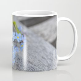blue flower Fortget Me Not Coffee Mug