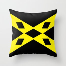 wigtownshire flag symbol Throw Pillow