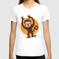monkey island T-shirts featuring Monkey by BATKEI