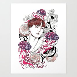 BTS J-HOPE Art Print