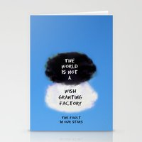 tfios Stationery Cards featuring TFIOS Quote #3 by Jerry Maestas