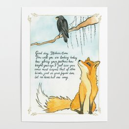 The Fox and the Crow Poster