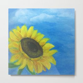 Sunflower-Acrylic Metal Print
