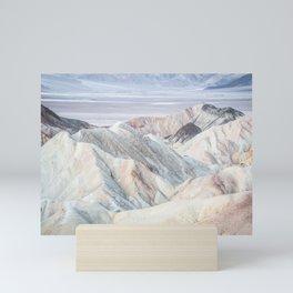 Breathtaking Vast White Mountains Mini Art Print