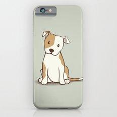 Staffordshire Bull Terrier Dog Illustration iPhone 6 Slim Case