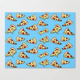 PIZZA HOT Canvas Print