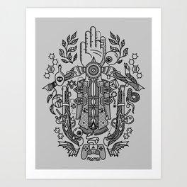 Ancestor's Hand Art Print