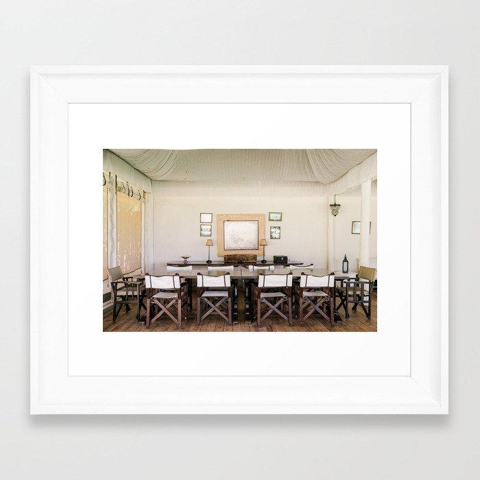 Canvas Framed Art Print